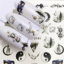 Load image into Gallery viewer, Butterfly / Lotus Designs Nail Art