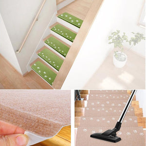 1 piece Luminous Self-Adhesive Staircase Mats Non-slip Step Rugs 55*22 cm