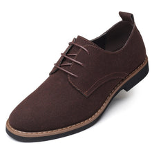 Load image into Gallery viewer, Men Suede Leather Shoes