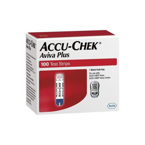 Accu-Chek Aviva Plus - 100 Test Strips