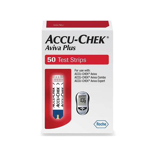 Accu-Chek Aviva Plus - 50 Test Strips