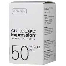 Arkray Glucocard Expression Test Strips