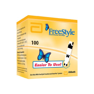 Freestyle - 100 Test Strips