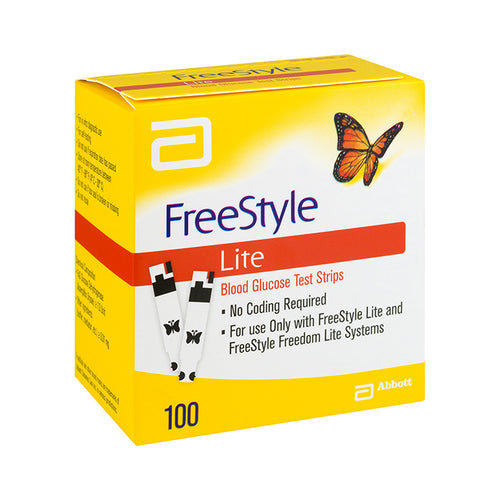Freestyle Lite - 100 Test Strips