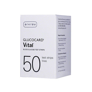 GlucoCard Expression - 50 Test Strips