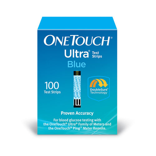 One Touch Ultra Blue - 100 Test Strips