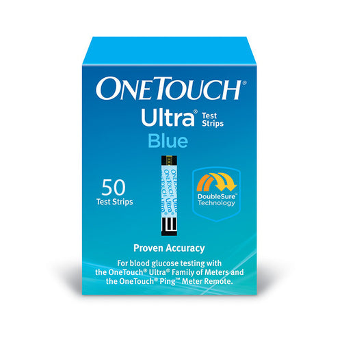 One Touch Ultra Blue - 50 Test Strips