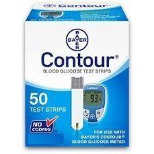 bayer contour diabetic test strips