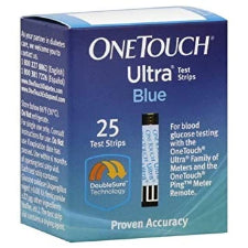 One Touch Ultra Blue 25 Strips
