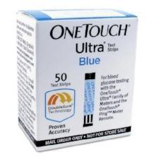 one touch ultra diabetic test strips