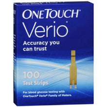 Load image into Gallery viewer, One Touch Verio 100 Test Strips