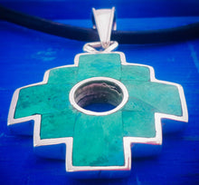 Load image into Gallery viewer, big 2 in 1 chakana pendant necklace