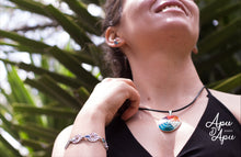 Load image into Gallery viewer, Apu D'Apu jewels, pachamama pendant necklace, inka symbol