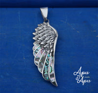angel wing pendant, fathers day jewelry, mothers day