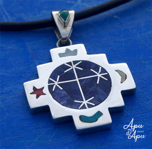 Load image into Gallery viewer, starseed symbol pendant necklace Peru