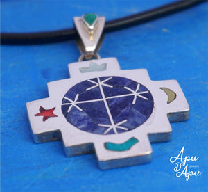 pendant for starseed people, pleiades symbol