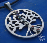 tree of life pendant with kundalini rising