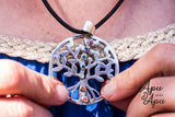 kundalini yoga pendant, tree of life