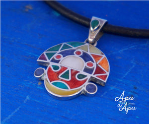 tumi pendant, sacred inca symbol, necklace for medicine man