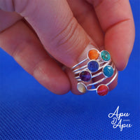 weekly ring seminario yoga jewelry collection