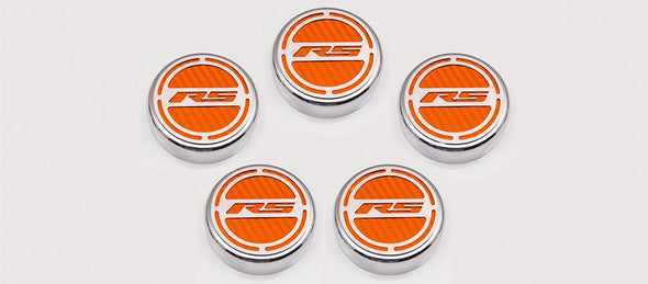 "2010-2015 Camaro V6 - Fluid Cap Cover | ""RS"" 