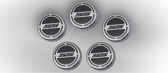"2010-2018 Camaro V8 - Fluid Cap Cover | ""SS"" 