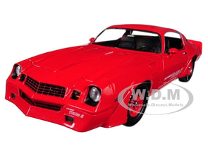 1981 Chevrolet Camaro Z/28 Yenko Turbo Z Red 1/18 Diecast