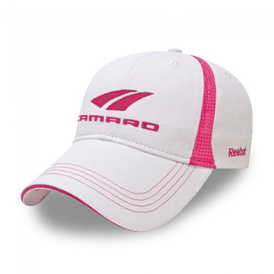 Camaro Ladies Reebok Cap - White/Pink