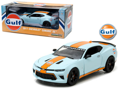 2017 Chevrolet Camaro SS Gulf Oil Racing 1/24 Diecast