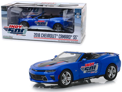 2018 Camaro SS Convertible 102nd Indy PennGrade Motor Oil 1/24 Diecast