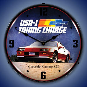 Lighted 1983 Z28 Camaro Clock