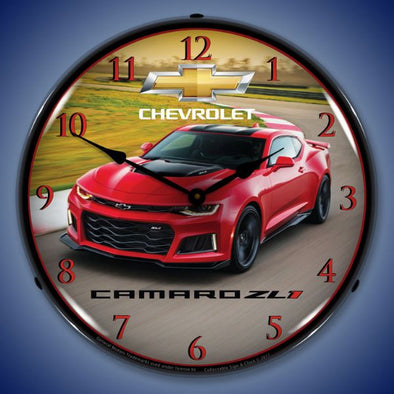 Lighted 2017 Camaro ZL1 Clock