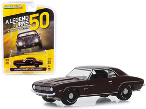 1969 Camaro Burgundy COPO Turns 50  Anniv Collection 1/64 Diecast