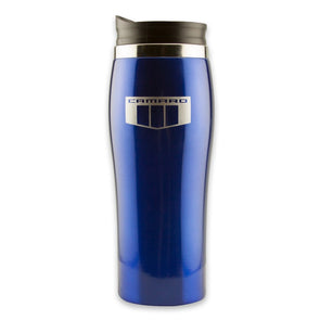 Camaro SIX Travel Tumbler - Blue/Silver