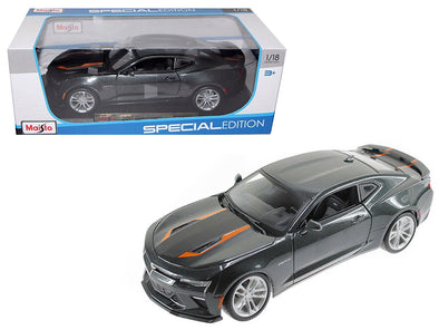 2017 Camaro SS Fifty 50th Anniversary Metallic Grey 1/18 Diecast