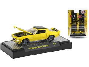 1970 Camaro Z/28 RS Hurst Sunshine Yellow/ Black Stripes 1/64 Diecast