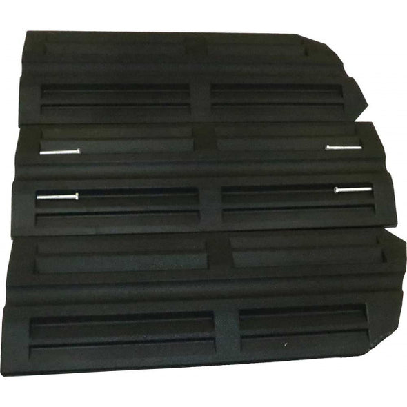 Bridjit Curb Ramps | Recycled Rubber | 3 Piece