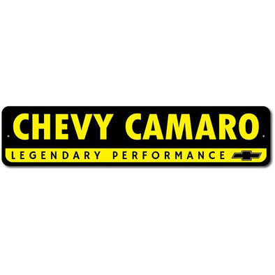 Camaro - Legendary Performance - Aluminum Sign