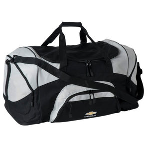 Colorblock Sport Duffle Bag