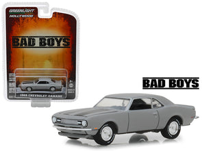 "1968 Camaro Gray ""Bad Boys"" (1995) Movie ""Hollywood"" Series 21 1/64 Diecast"