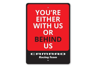 Camaro Racing Team  - Aluminum Sign