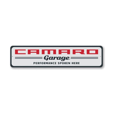 Classic Camaro Garage - Aluminum Sign
