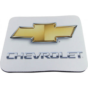 Chevrolet Mouse Pad, Gold Bowtie
