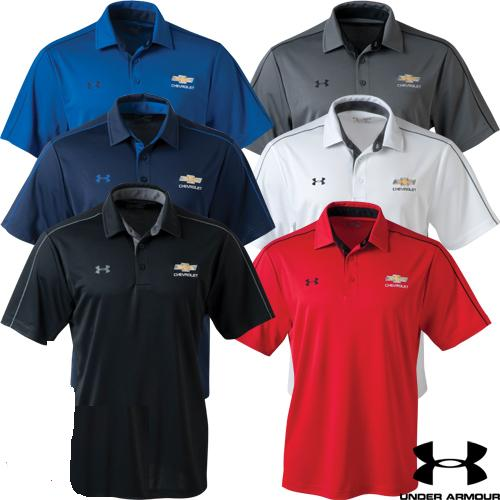 Chevrolet Gold Bowtie Men's Under Armour Tech Polo