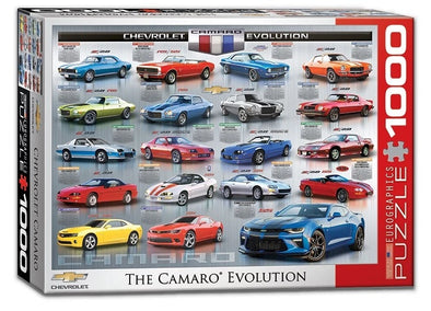 The Camaro Evolution- 1000 Pc Puzzle