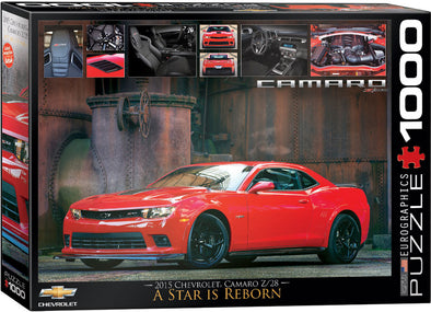 2015 Chevrolet Camaro Z/28 A Star is Reborn- 1000 Pc Puzzle