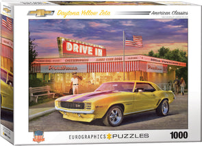 Camaro Daytona Yellow Zeta- 1000 Pc Puzzle