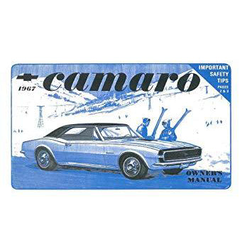1967 Camaro Owner's Manual