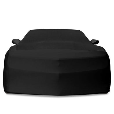 Camaro Ultraguard Stretch Satin - Indoor: Black
