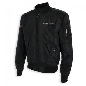 Camaro Wingover Bomber Jacket - Black